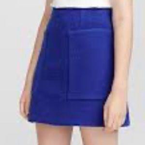 Icone (Simons Brand) Wool Blend Mini Skirt Large